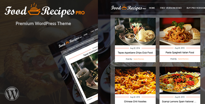 Foodrecipes pro wordpress theme fasterthemes food recipes pro is a twitter bootstrap based responsive wordpress theme mainly designed for those bloggers who are interested in writing their blogs on forumfinder Gallery