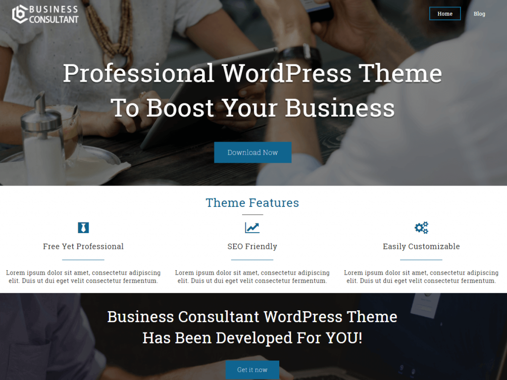 Top 10 Free WordPress Themes For Business For 2019