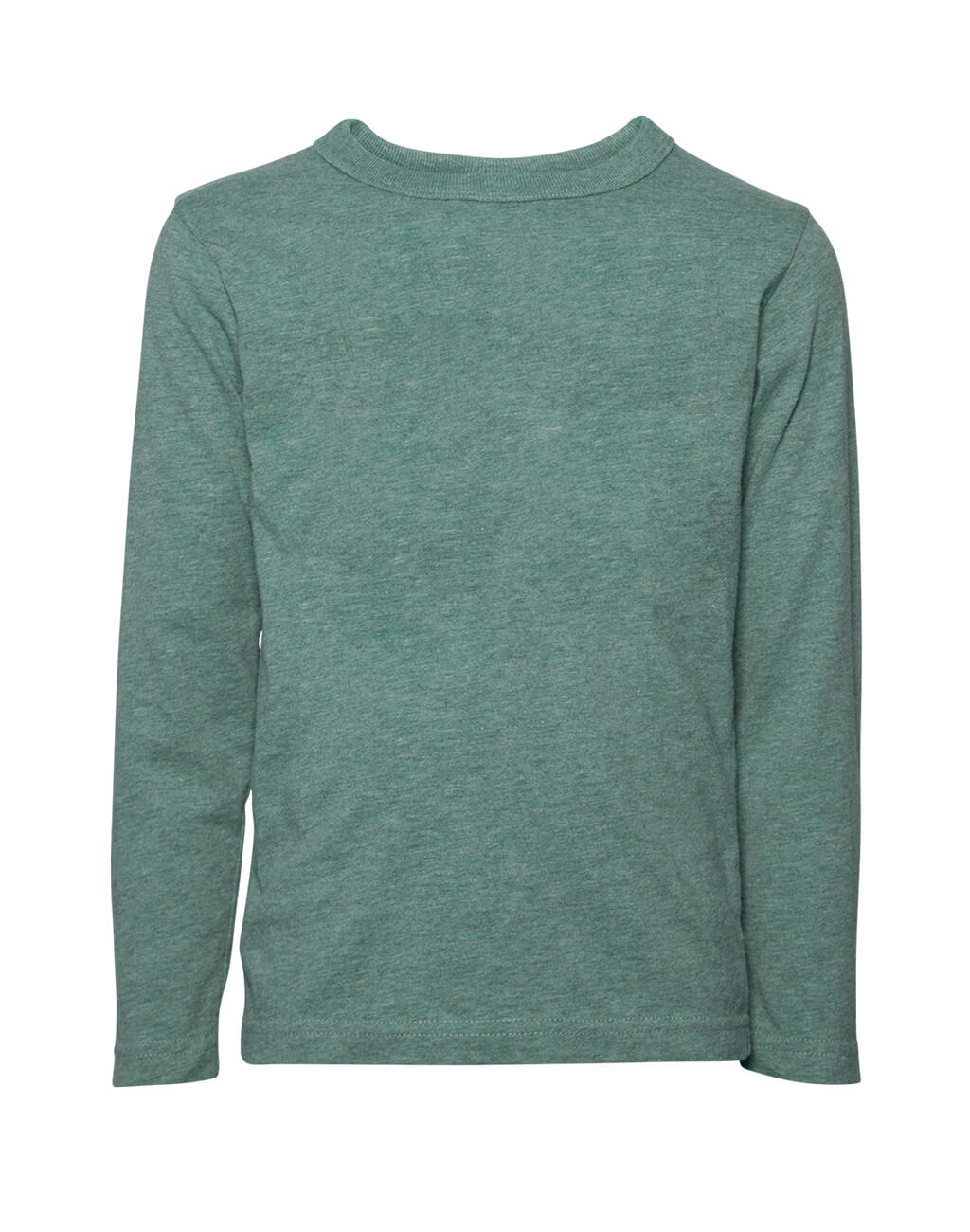 Mans : Long Sleave T-shirt Green