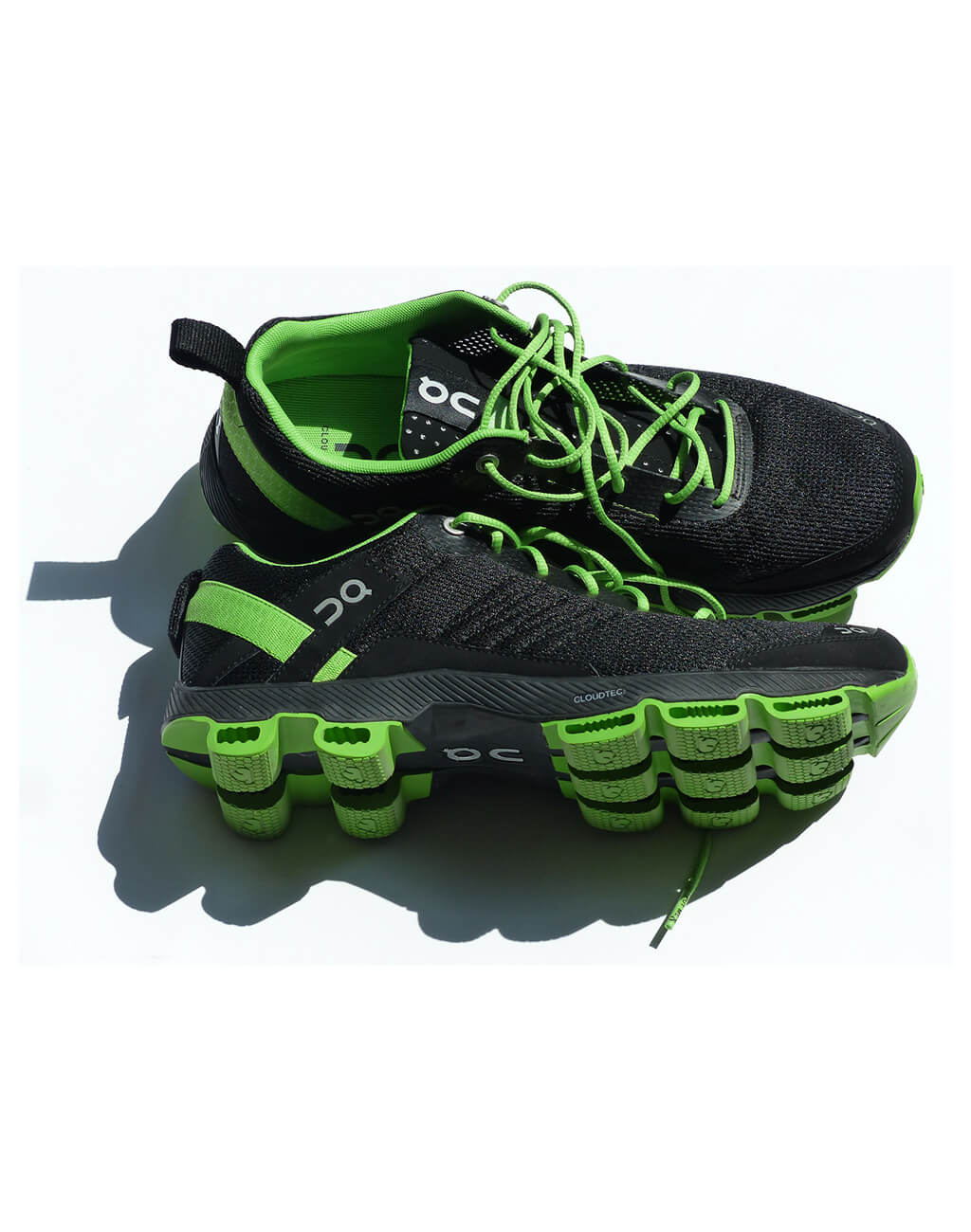 DQ : Sport Shoes Black and Green For Man's