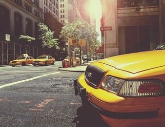TAXI CAB NEW YORK