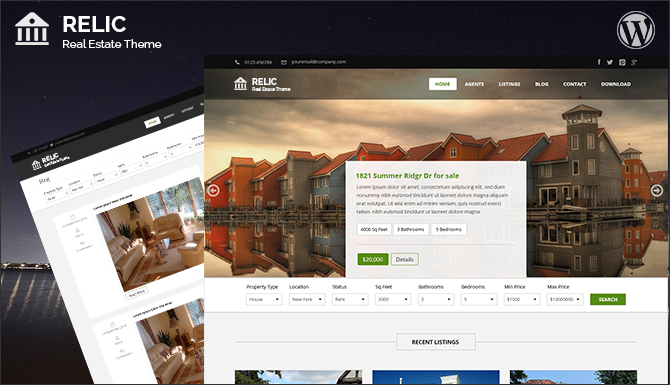 Relic Pro WordPress Theme | FasterThemes