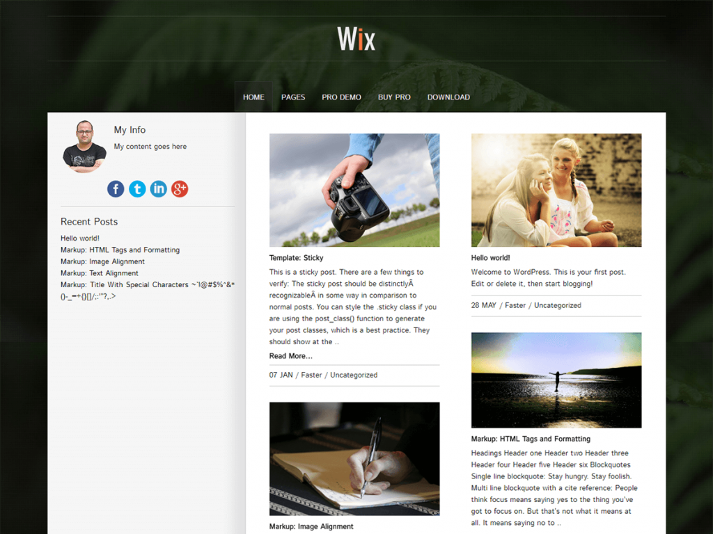 Top 10 Free WordPress Themes For Blogs For 2019